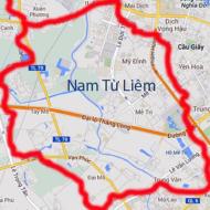 Quận Nam Từ Liêm ở đâu?