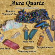 Đá Thạch Anh hào quang ( Aura Quartz )