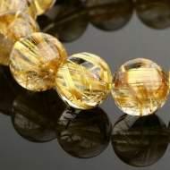 Tiêu chuẩn lựa chọn và ý nghĩa phong thủy của đá Thạch Anh Tóc Vàng