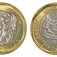Bí ẩn về đồng 1 Xu Singapore may mắn