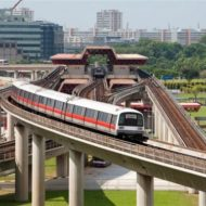 Phong thủy cho công trình tàu điện ngầm tại Singapore